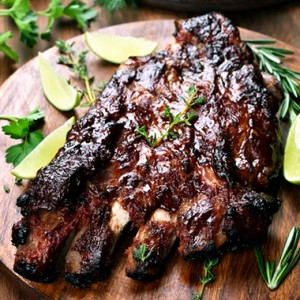 Ambrosia Honey BBQ Pork Ribs