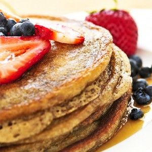 Ambrosia Honey Pancakes