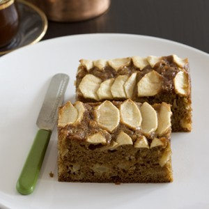 Ambrosia Peanut Butter Apple Cake