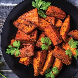Ambrosia Honey Sweet Potato Wedges